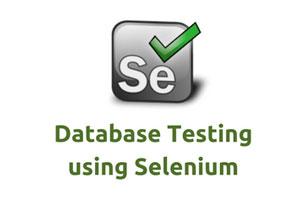 Database-Selenium