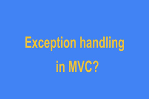 MVC Exceptions