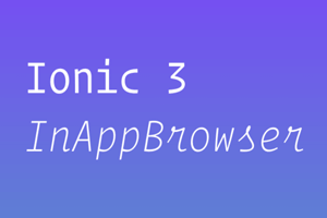 ionic browser