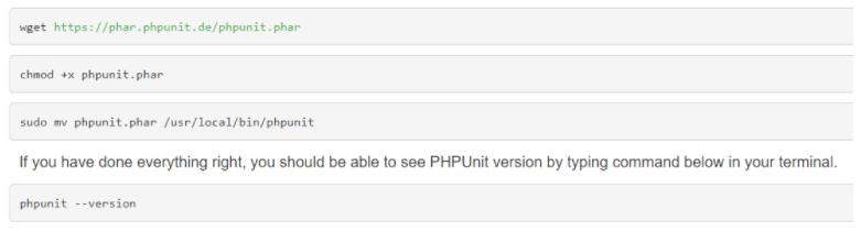 PHP Unit
